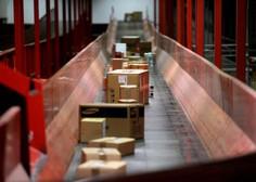 Pošta zaradi epidemije beleži še večji obseg paketnih pošiljk
