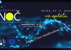 Evropska noč raziskovalcev 2020 z virtualnimi dogodki na temo raziskovanj in inovacij