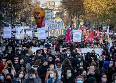 V Franciji množični protesti proti zakonu, ki bi prepovedal snemanje policistov