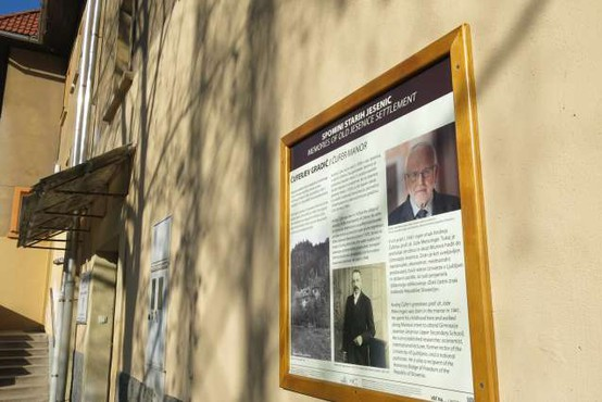 Ob pohodni poti po Mežakli še tematska sprehajalna pot Spomini starih Jesenic
