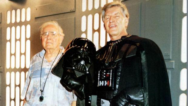 Poslovil se je David Prowse, zloglasni Darth Vader iz Vojne zvezd (foto: profimedia)