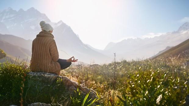 Pri meditaciji ne gre za to, da bi bili duhovni, ampak da vidimo resničnost tako, kot je. (foto: profimedia)