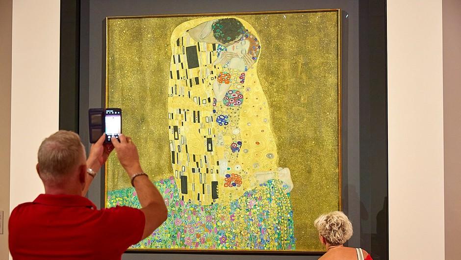 Radodarna zakonca muzeju podarila Klimtovo sliko, vredno 475.000 evrov (foto: profimedia)