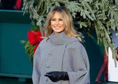 """Melania Trump razkrila svojo zadnjo božično okrasitev Bele hiše, ki ji je dala naslov """"America the Beautiful"""" (video)"""