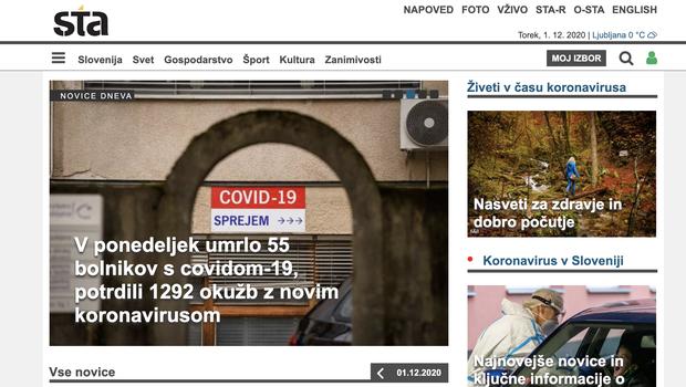 Vlada zamolčala, da je prenehala financirati Slovensko tiskovno agencijo (foto: www.sta.si)