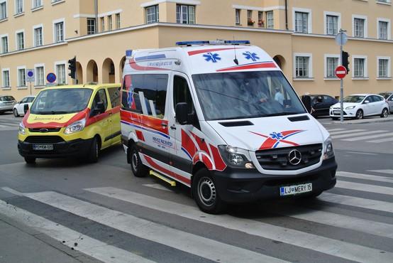 UKC Ljubljana: Dodaten naval poškodovanih zaradi snega in poledice lahko pomeni kolaps sistema