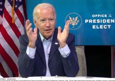 Biden v prvem intervjuju po zmagi napovedal, da bo prosil Američane, naj 100 dni nosijo maske