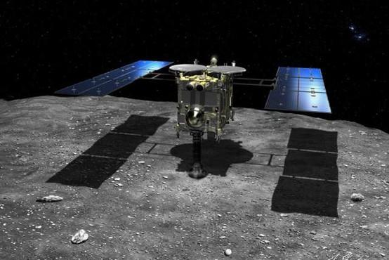 Pošiljko japonske sonde z asteroidnim prahom našli v Avstraliji in prepeljali v laboratorij
