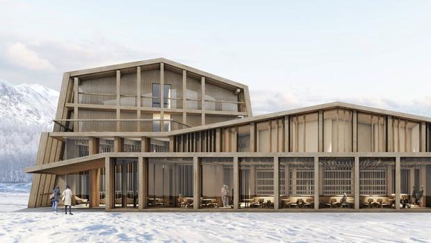 Hotel Bohinj bo vrata odprl spomladi 2021. (foto: Instagram Hotel Bohinj)