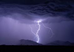 Supercelična nevihta na obali največ škode naredila v Izoli, v bližini Trsta viden tornado (foto)