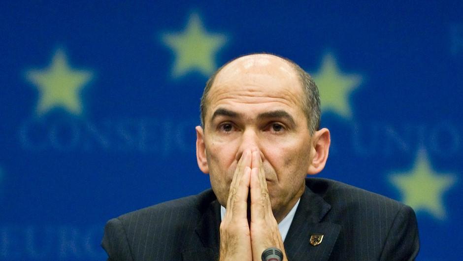 Hrvaška pooblastila Janšo, da jo zastopa na vrhu EU-ja v Bruslju (foto: Profimedia)