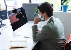 Dve tretjini zaposlenih redno nosi maske na delovnem mestu