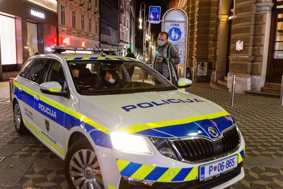 Policija za konec tedna spet napovedala poostren nadzor