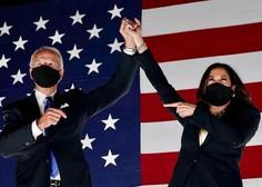Joe Biden in Kamala Harris osebnosti leta revije Time