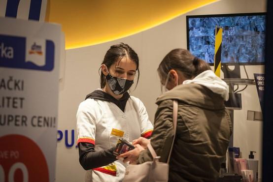 Srbija je prvič po dveh tednih zabeležila manj kot šest tisoč dnevnih okužb