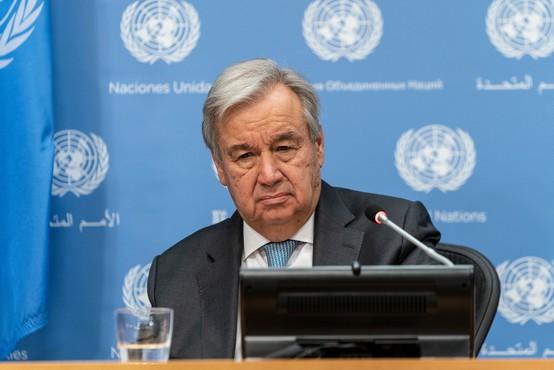 Antonio Guterres poziva svetovne voditelje k razglasitvi izrednih podnebnih razmer