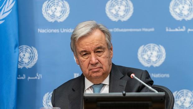 Antonio Guterres poziva svetovne voditelje k razglasitvi izrednih podnebnih razmer (foto: profimedia)