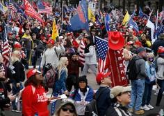 Na protestu Trumpovih podpornikov v Washingtonu več poškodovanih