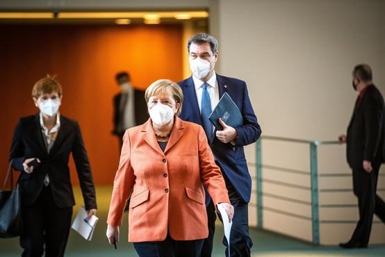 V Nemčiji bodo v sredo popolnoma ustavili javno življenje