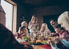Kako praznike preživeti varno in v dobri družbi