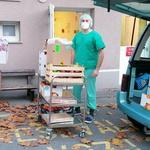 Malic so se razveselili tudi v bolnišnici Trbovlje. (foto: Foto: Osebni Arhiv)