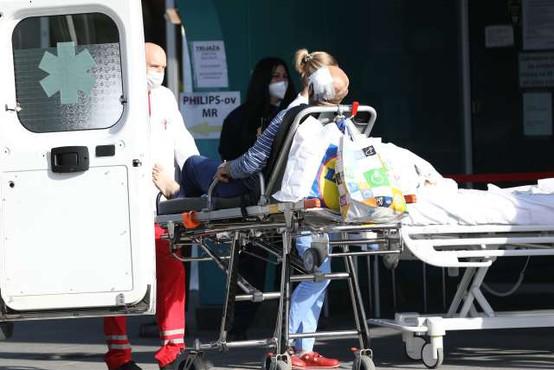 Na Hrvaškem zabeležili rekordnih 92 smrti zaradi covida-19
