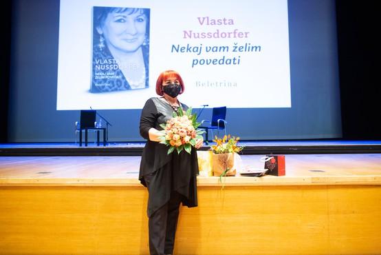 Vlasta Nussdorfer o svoji avtobiografiji in razmerah na Slovenskem (Metropolitan podkast)