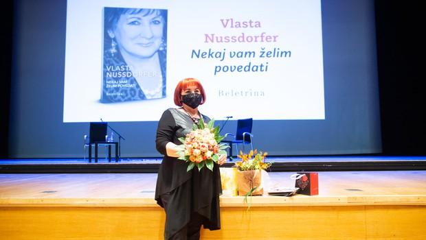 Vlasta Nussdorfer o svoji avtobiografiji in razmerah na Slovenskem (Metropolitan podkast) (foto: Matej Pušnik)