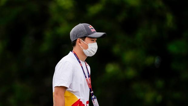 Tsunoda prvi Japonec v formuli 1 po 2014 (foto: Profimedia)