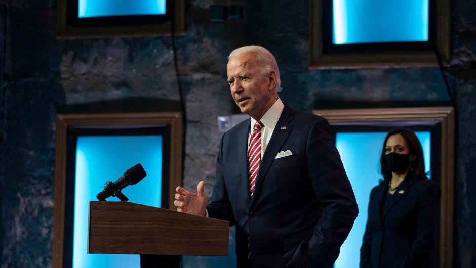 Biden napovedal, da se bo javno cepil proti covidu-19 (foto: Shutterstock)