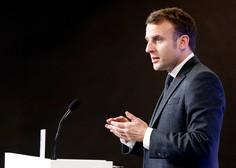 Francoski predsednik Macron pozitiven na koronavirus