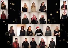 [VIDEO]:  Perpetuum Jazzile presenetili z edinstveno izvedbo skladbe White Christmas