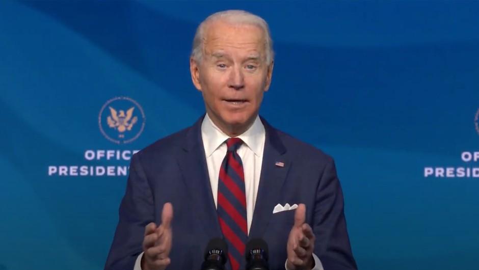 Joe Biden: Potrebujemo enoten odziv države na podnebne spremembe (foto: profimedia)