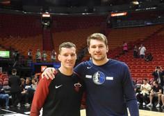 V boj za končnico lige NBA se znova podajata Dončić in Dragić