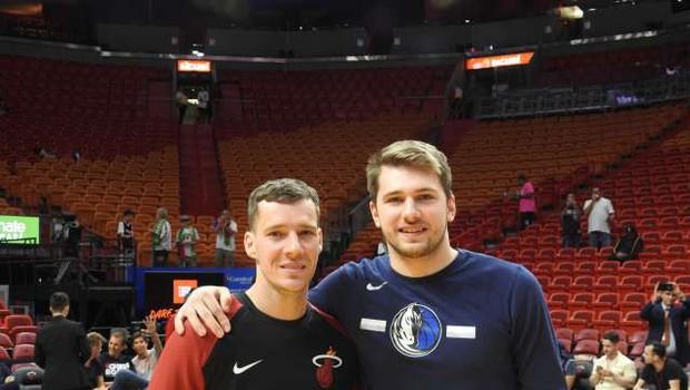 V boj za končnico lige NBA se znova podajata Dončić in Dragić (foto: Slavko Baranja/STA)