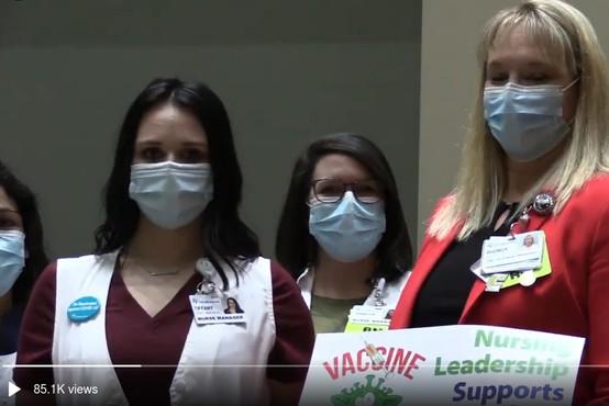 Širijo se LAŽNE novice o smrti 30-letne medicinske sestre, ki jo je po cepljenju obšla slabost