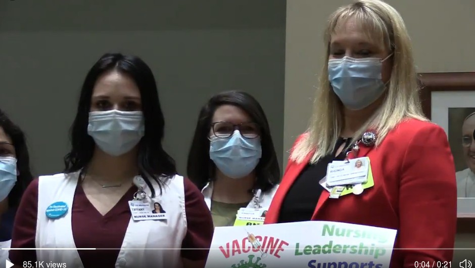 Širijo se LAŽNE novice o smrti 30-letne medicinske sestre, ki jo je po cepljenju obšla slabost (foto: Tw CHI Medical)