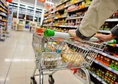 Od četrtka ponovno odprte le trgovine z živili