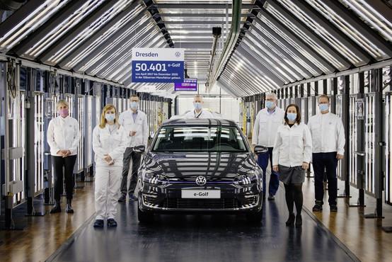 Prvi velikoserijski električni Volkswagen odhaja v pokoj