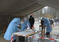 Na množičnem testiranju v torek odkrili 142 okužb; objavljamo natančen seznam lokacij, kje se lahko testirate danes