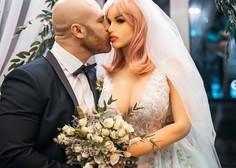 Bodibilder, ki se je poročil z lutko, ima med prazniki nepričakovane težave