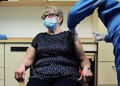 Cepljenje proti covidu-19 Slovenija začela v domovih za starejše