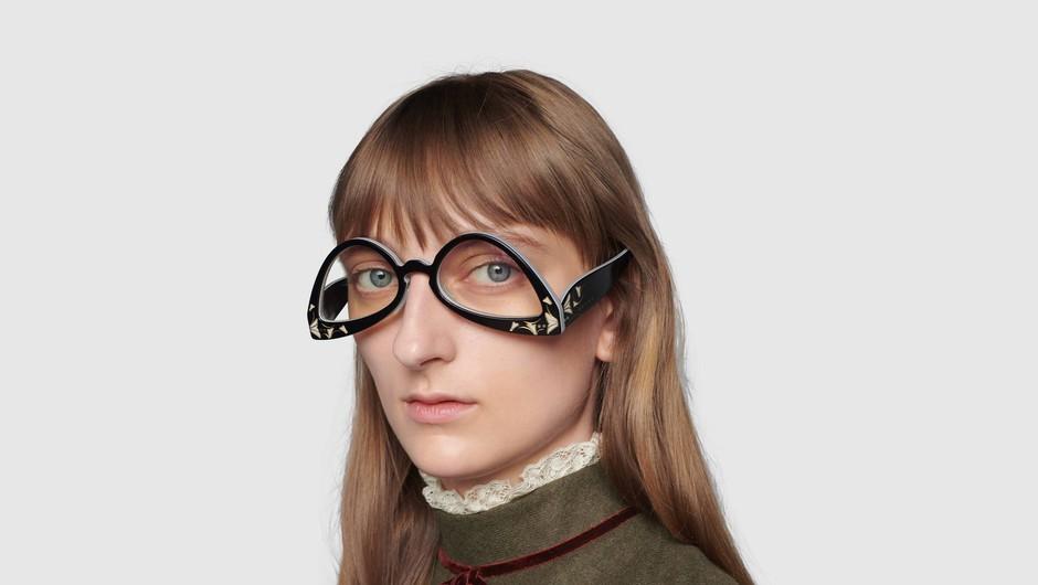 Tako so videti nova Gucci očala, ki se jim posmehujejo na družbenih omrežjih (foto: Gucci)