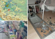 Močan potres z magnitudo 5,2 zjutraj stresel širše območje Zagreba