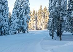 Ob večji verjetnosti snežnih plazov zelo previdno pri obisku gora