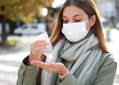 V nedeljo potrdili 517 okužb, delež pozitivnih testov znaša 26,2 odstotka