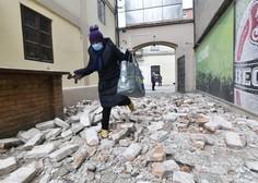 Na Hrvaškem v potresih poškodovanih več kot sto objektov, največ na območju Siska in Petrinje (foto)