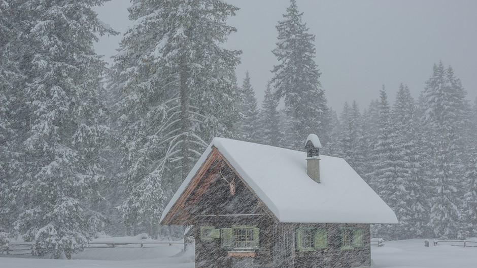 Arso izdal opozorilo, ponekod lahko zapade do 60 cm snega (foto: Shutterstock)