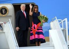 Trump tvita, da se Melaniji godi krivica, ker je premalokrat na naslovnicah modnih revij