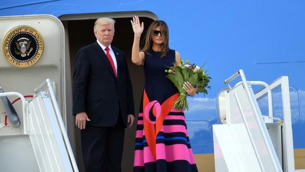 Trump tvita, da se Melaniji godi krivica, ker je premalokrat na naslovnicah modnih revij (foto: Shutterstock)